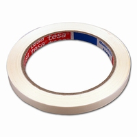 Tape -  PVC - 9 mm x 66 m - wit - Tesa - type 4204  krimp 16 stuks