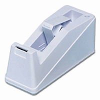 Tape dispensers - 33 & 66 mtr rollen - tot 25 mm - B2 - wit  stuk