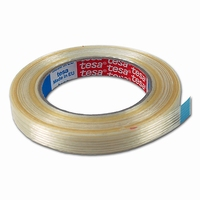 Tape - filament tape - 25 mm x 50 mtr -  ruit versterkt  doos 36 rol