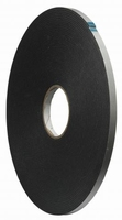 Tape - Foam tape  - 12 mm x 10 mtr - automotive - acryl  doos 96 rol